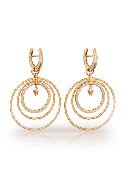 Wellendorff Nobel-Brilliance of the Sun Earrings