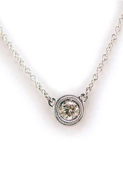 "Oster Jewelers 16"" Diamond Necklace"