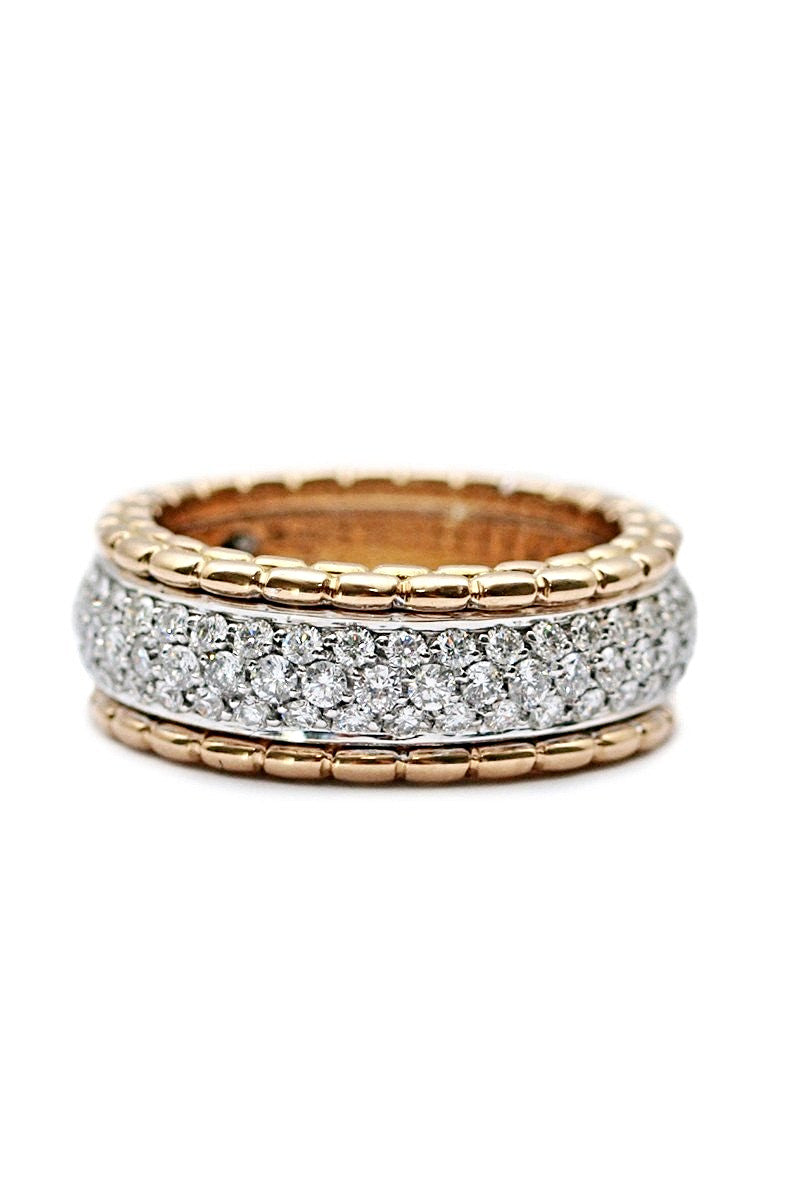 FOPE Diamond Pave Phylo Ring AN803 BBR