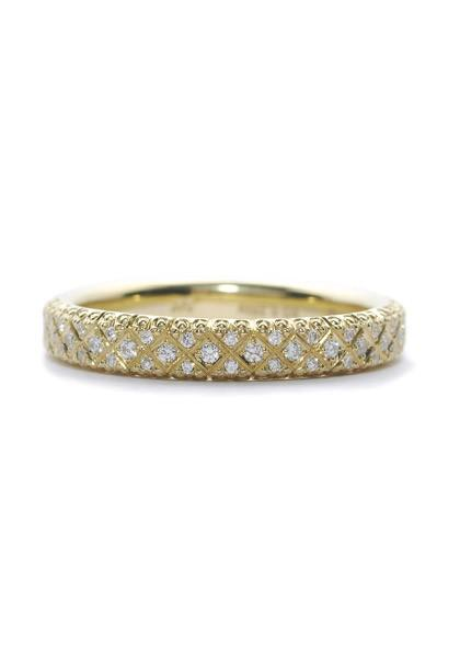 Rahaminov Pave Diamond Band