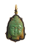 Sylva & Cie Black Diamond Turquoise Buddha Enhancer
