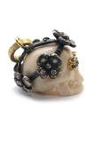 Sylva & Cie Diamond Juliet Skull Enhancer