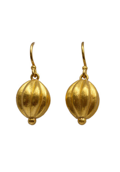 Lika Behar Nutmeg Shepherd Hook Earrings