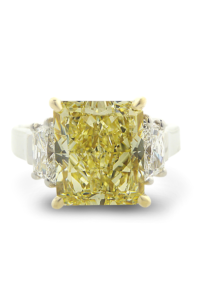 Louis Glick Starburst Diamond Ring