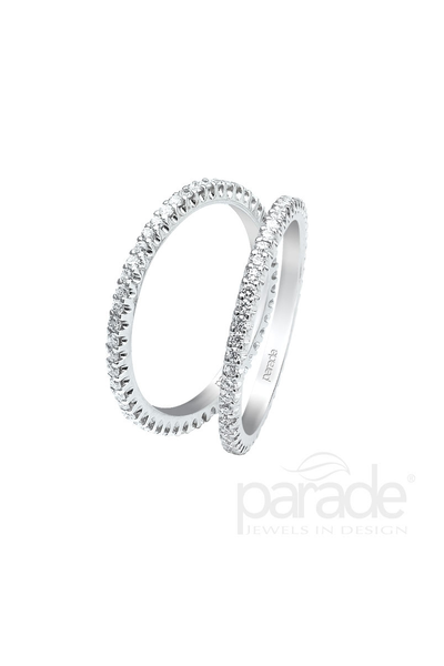 Parade Designs Diamond 2 Piece Eternity Band