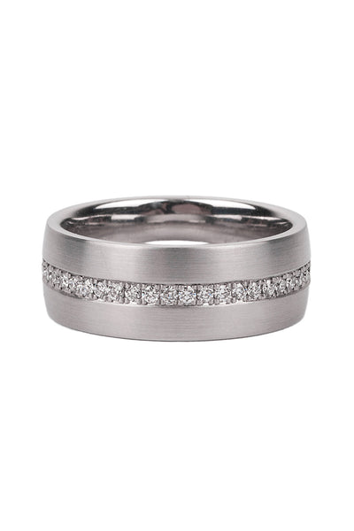 Furrer Jacot Diamond Wide Eternity Band