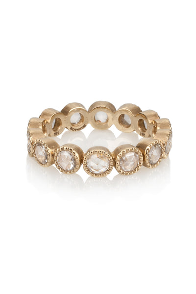 Sylva & Cie Rosecut Diamond Eternity Band