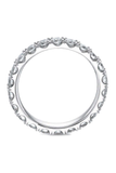 Precision Set Platinum Diamond Eternity Band