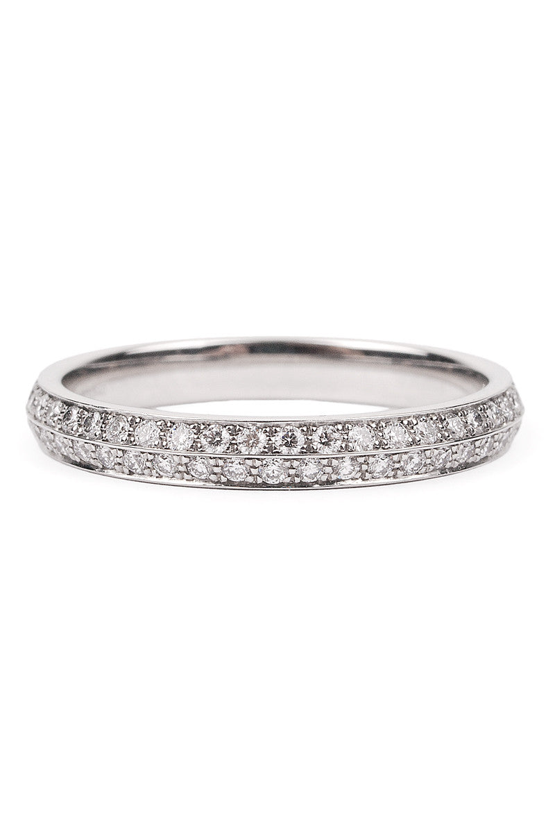 Furrer Jacot Lucienne 2 Row Diamond Eternity Band