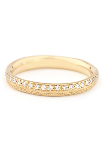 Anne Sportun Yellow Gold & Diamond Stardust Band