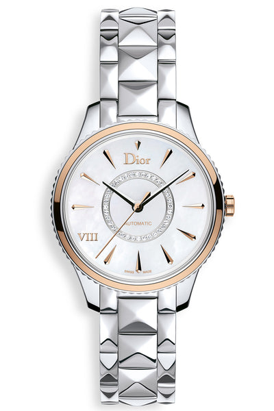 Dior VIII Montaigne White Mother of Pearl 36mm