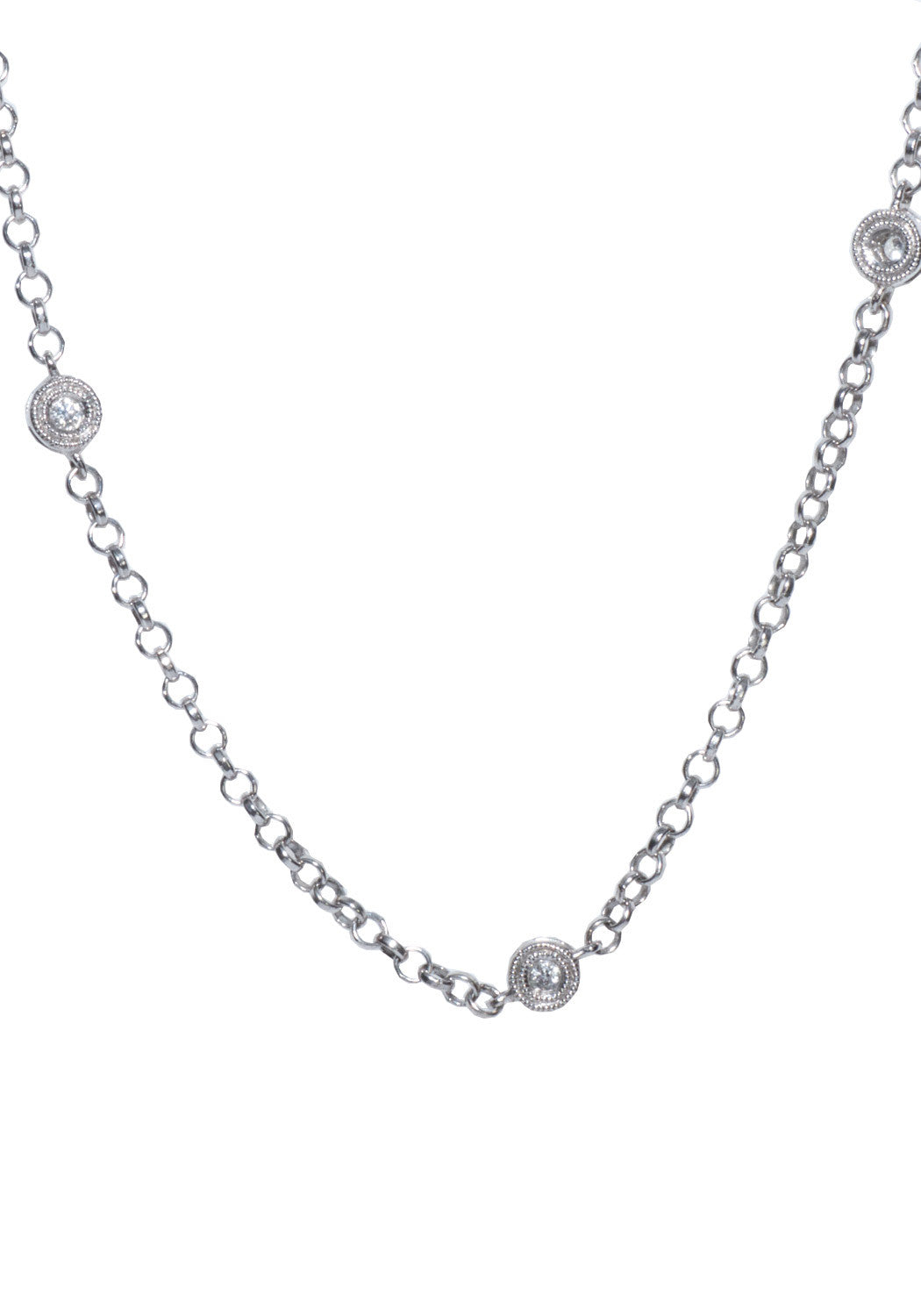 .41ctw Diamond Chain W/ Toggle