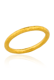 Lika Behar Hammered Yellow Gold Band