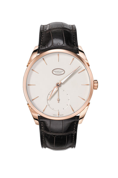 Parmigiani 1950 Tonda 18krg Grained White 39mm