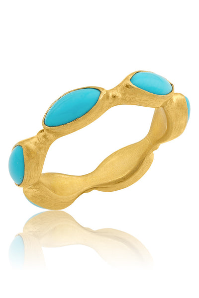 2.92ctw Sleeping Beauty Turquoise Ring