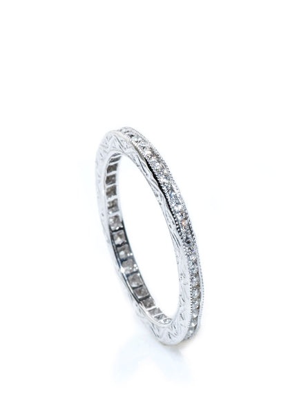 Sethi Couture Channel Diamond Eternity Band