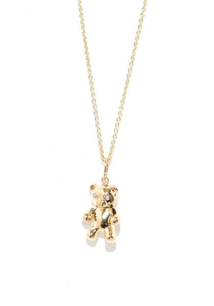 Sydney Evan Teddy Bear Necklace