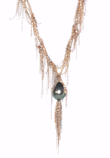 Martin Bernstein Tahitian Pearl necklace