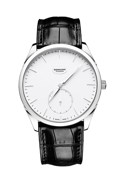 Parmigiani Tonda 1950 Steel (Black/white)