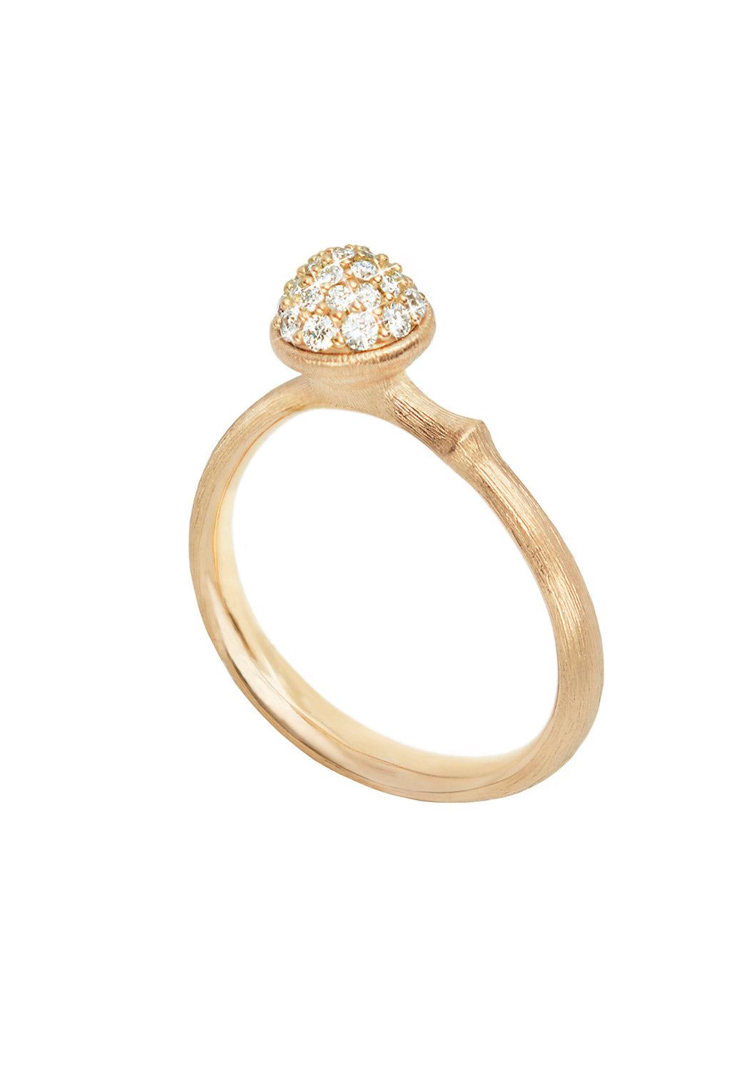 OLE LYNGGAARD Lotus Diamond Ring