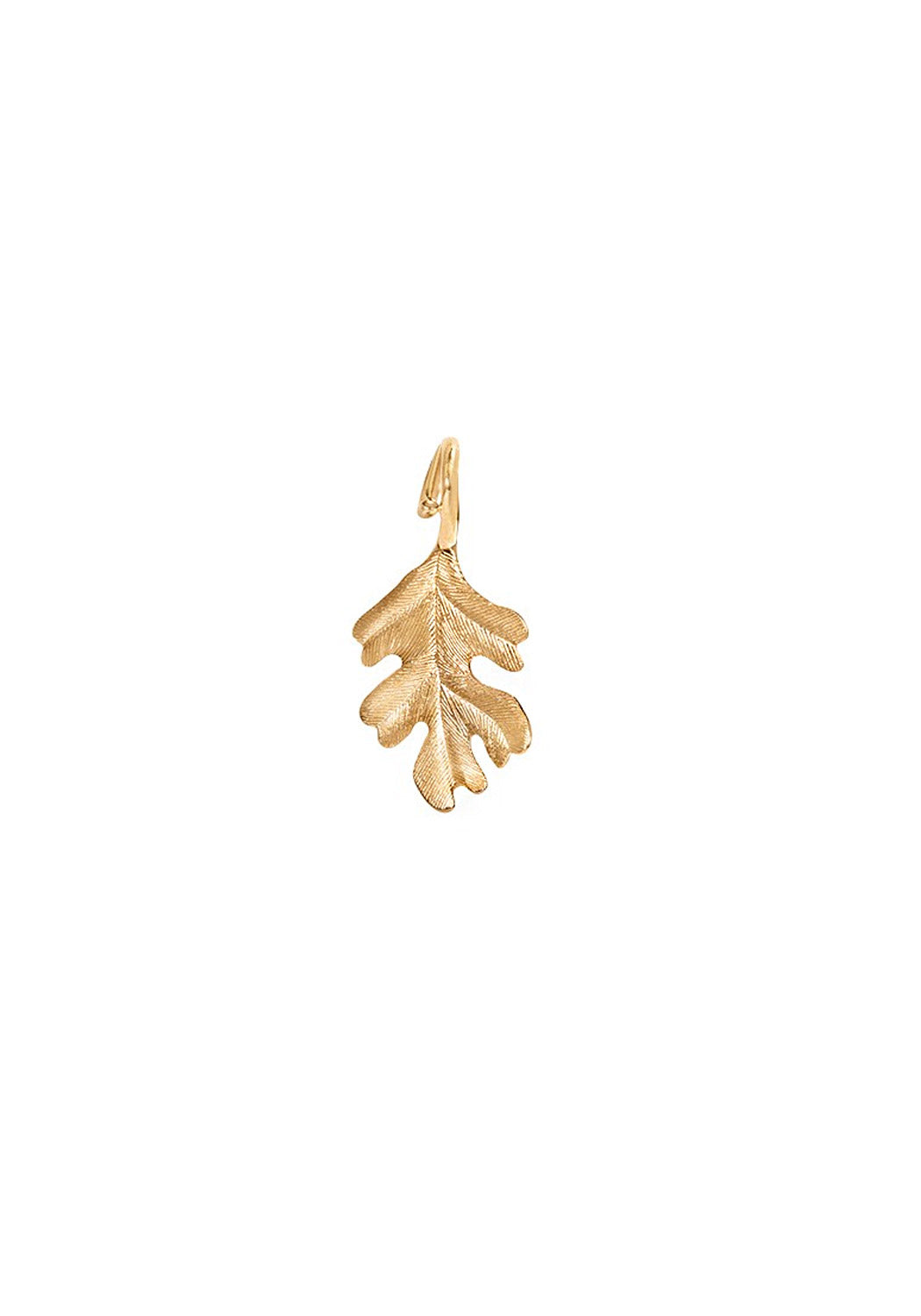 OLE LYNGGAARD Oak Leaf Forest Pendant | Medium