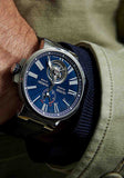 Ulysse Nardin Marine Tourbillon 43mm Blue Leather