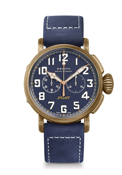 Zenith Pilot Type 20 Chronograph Extra Special Blue