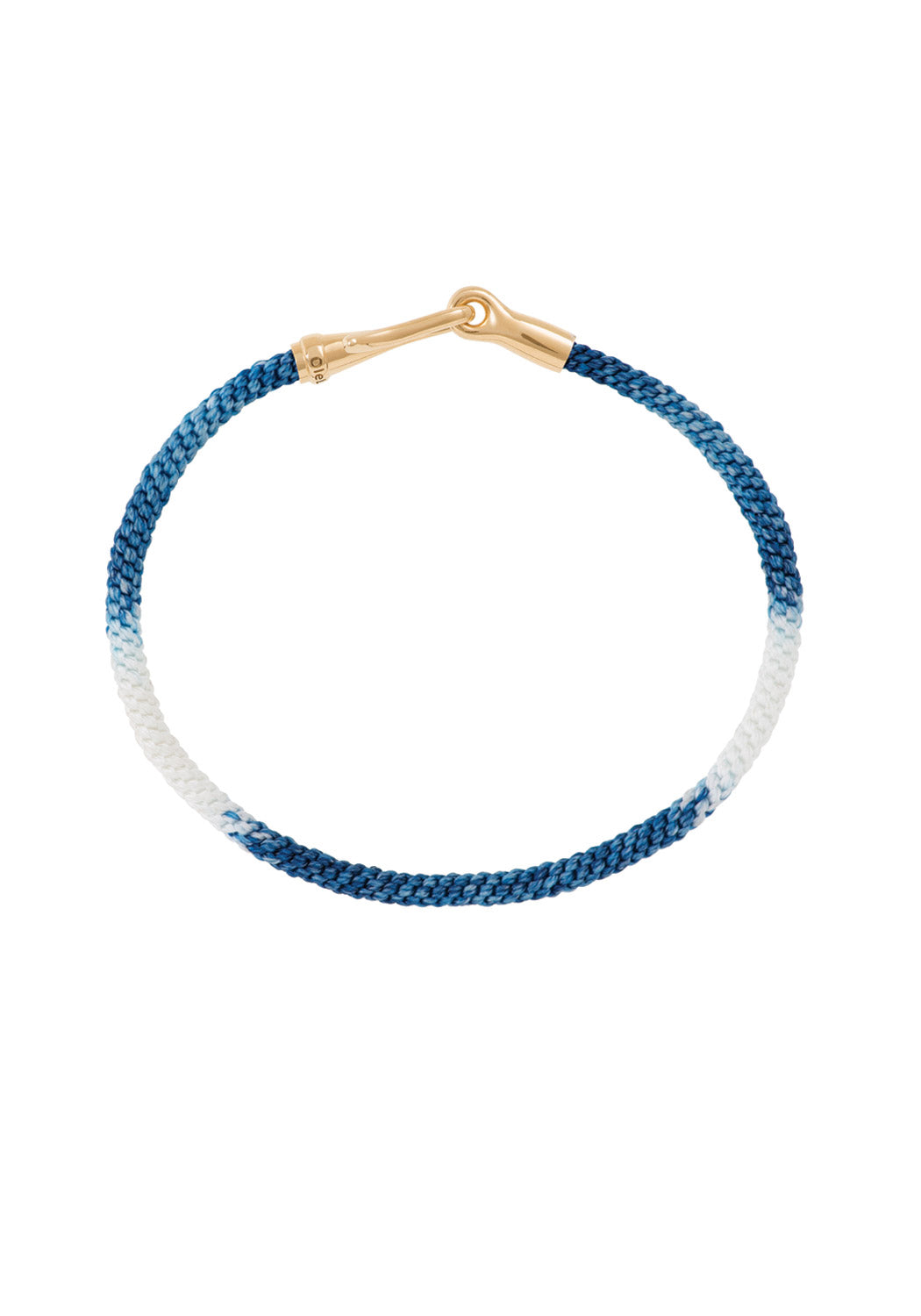 OLE LYNGGAARD Life Rope Blue Jean Bracelet at Oster Jewelers (16cm)