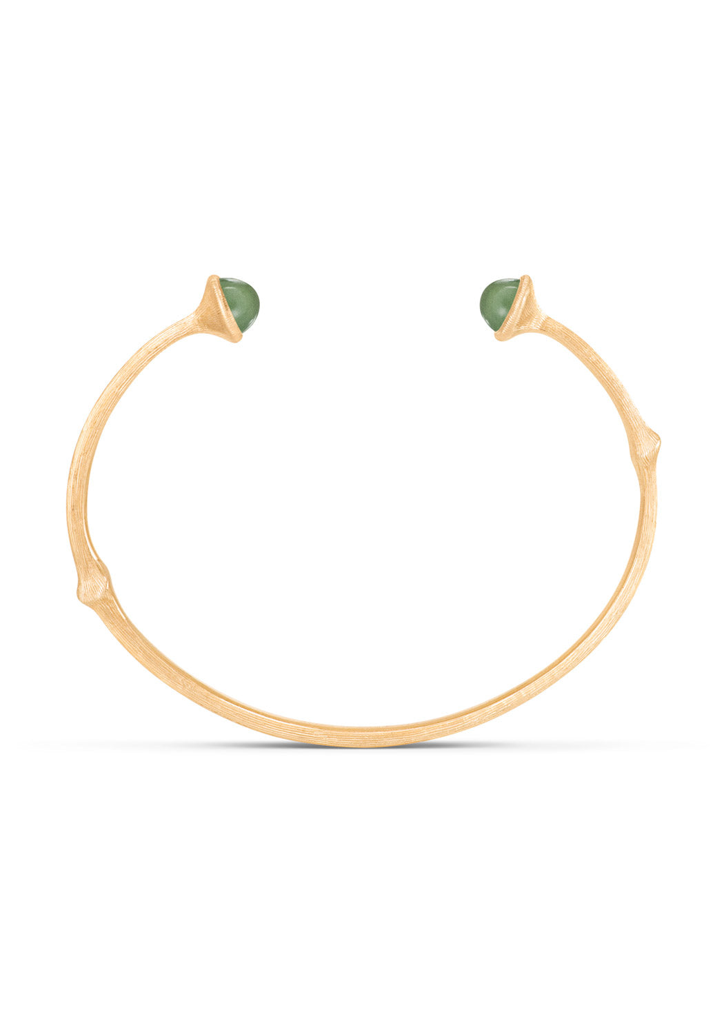 OLE LYNGGAARD Open Serpentine Nature Cuff