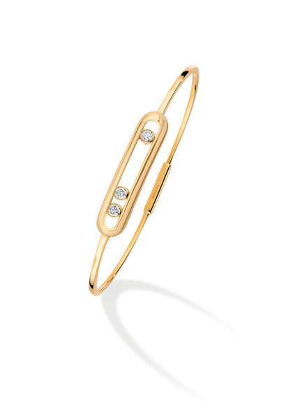 Messika Move 18YG Diamond Bangle