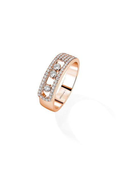 Messika Move Noa Pave Diamond Ring