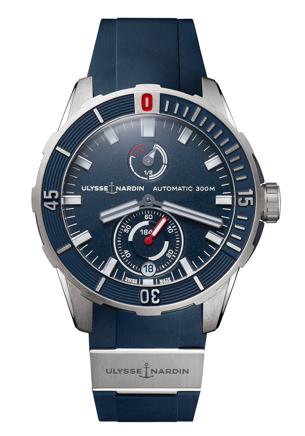 Ulysse Nardin Diver Chronometer Blue 44mm