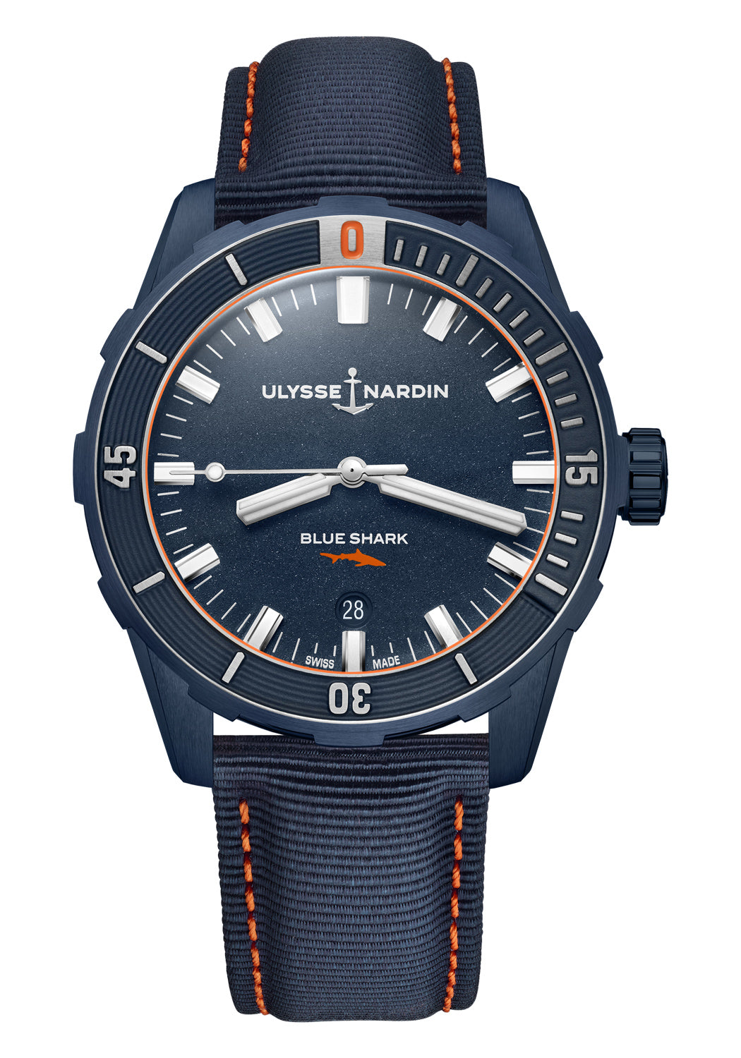 Ulysse Nardin Marine Diver Blue Shark 42mm