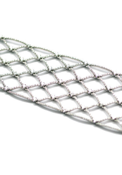Stefan Hafner Fishnet Diamond Bracelet