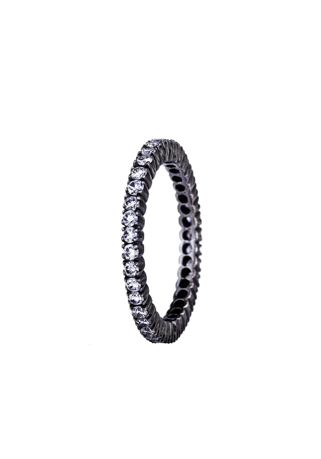 Sethi Couture Black Gold Diamond Eternity Band