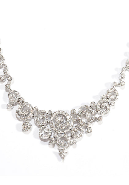 Stefan Hafner Astrakan Diamond Collar Necklace