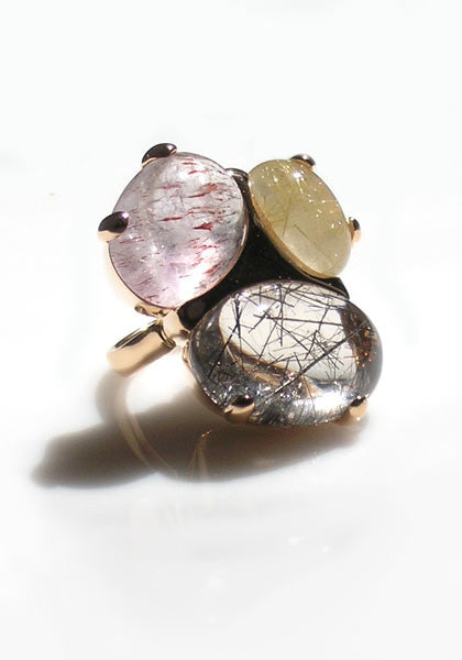 Marco Molinario Rutilated Quartz Ring
