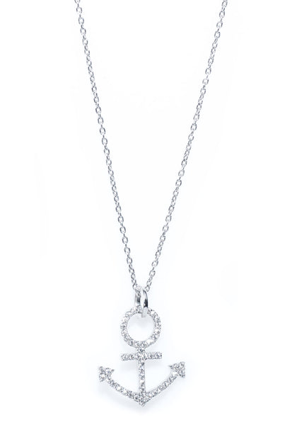Oster Collection Diamond Anchor Pendant