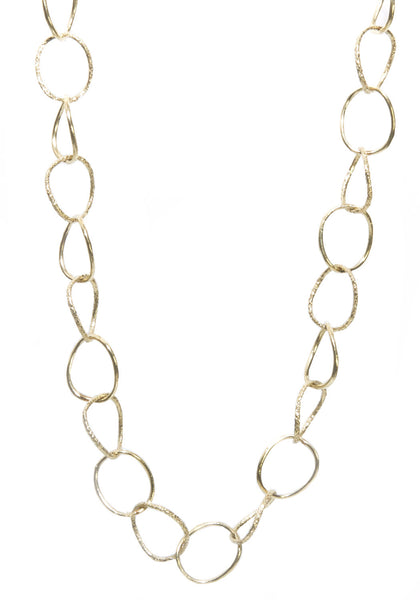 Dominique Cohen Delicate Twist Round Link Chain