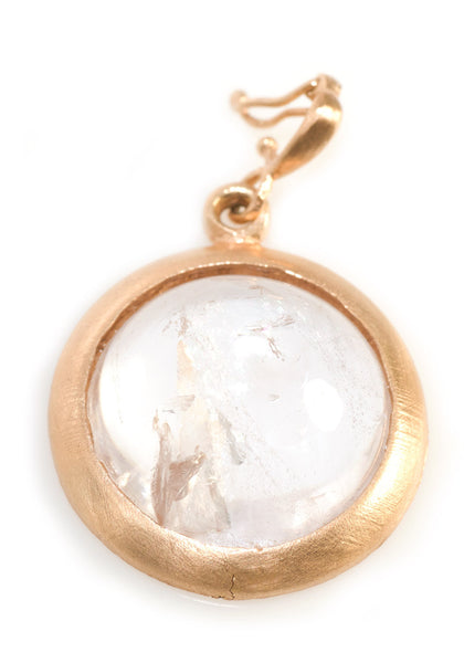 Dominique Cohen Morganite Cabachon Enhancer