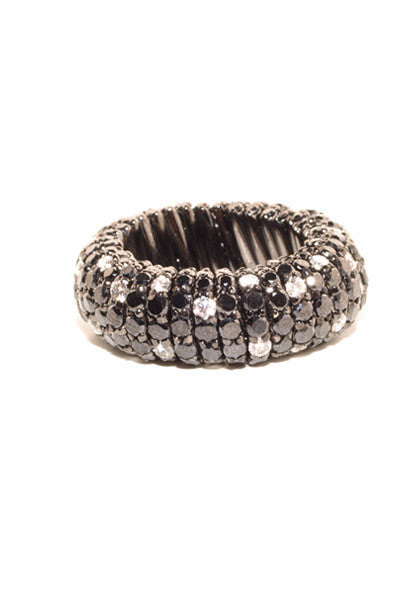 Roberto Demeglio Black & White Diamond Ring