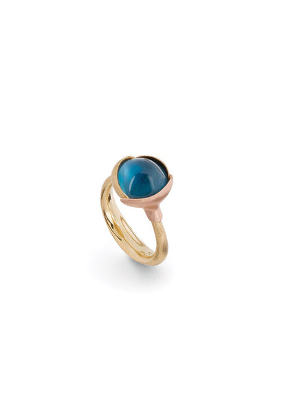 OLE LYNGGAARD Lotus London Blue Topaz Ring