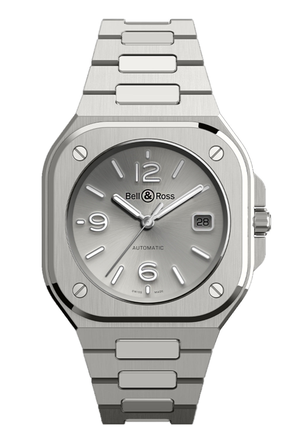 Bell & Ross BR 05 GREY STEEL