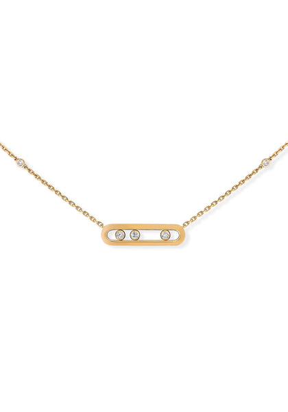 fast delivery designer fashion coupon codes Messika 18KYG Baby Move Diamond Necklace | Oster Jewelers