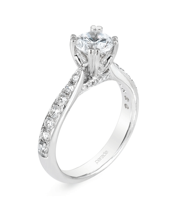Parade Designs White Gold Diamond Ring