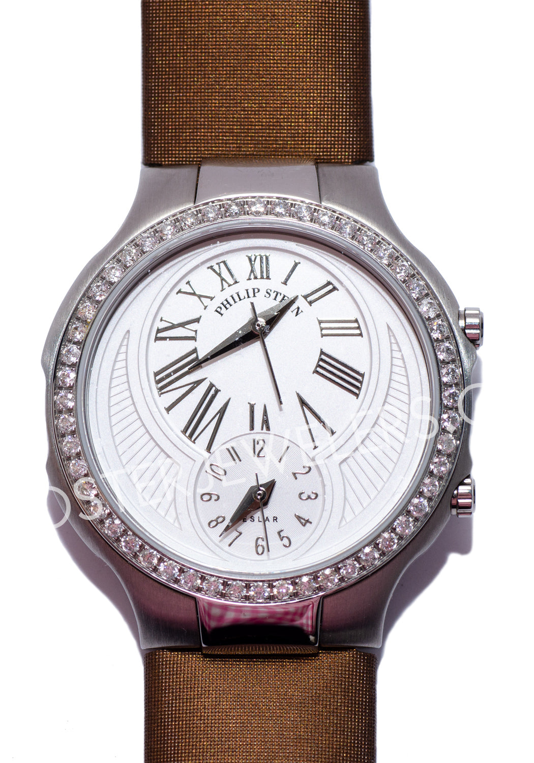 Philip Stein Diamond Classic Round Watch Pre-Owned