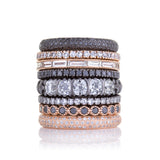 Sethi Couture Black Diamond Eternity Band