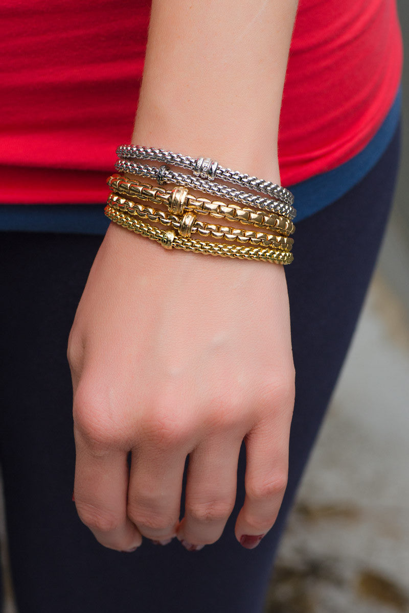 FOPE Gold Flex'it Bracelet