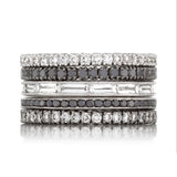 Sethi Couture Diamond White Gold Eternity Rings