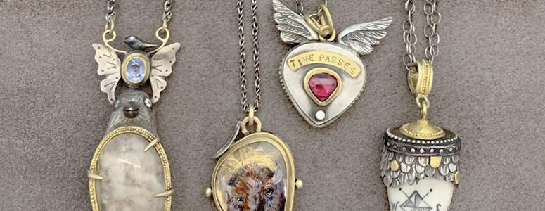 Petite pendants, perfect for holiday gift giving for her | Oster Jewelers